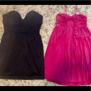 Women's medium dress lot strapless m